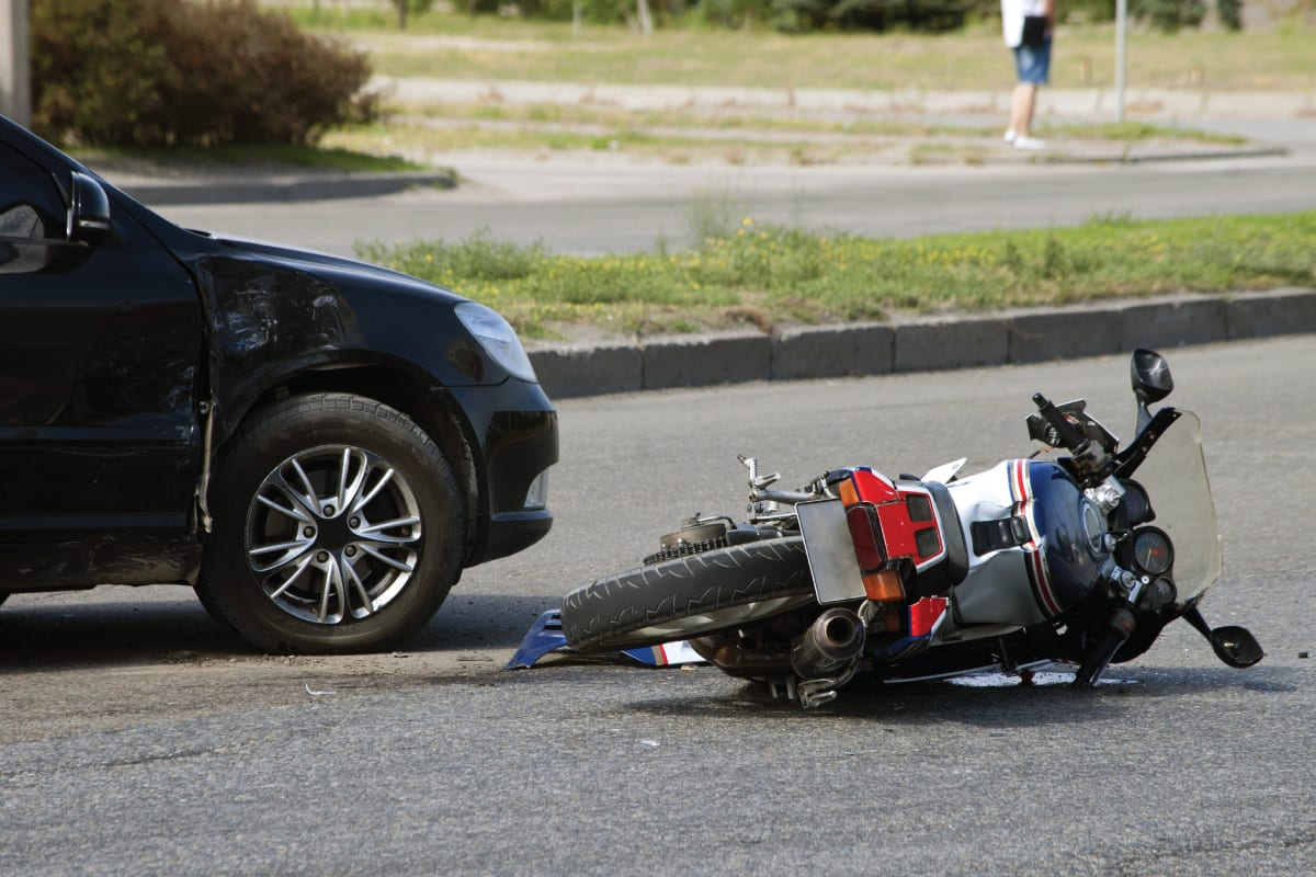 Motorcycle wrecks accidents